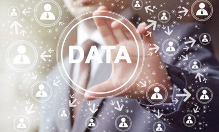 Business button data network communication